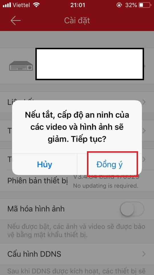 Huong dan tat ma hoa hik connect tren thiet bi hikvision 12 sieuthicamerahanoi.com