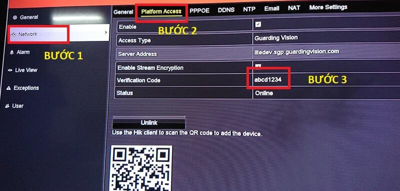 Huong dan tat ma hoa hik connect tren thiet bi hikvision 5 sieuthicamerahanoi.com